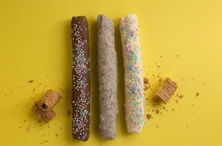 Canudo Três Chocolates